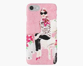 iPhone X, iPhone 8 Case, iPhone 7 Case iPhone 6 iPhone 7 Case: Les Roses {iPhone 6s, iPhone 6 Plus, iPhone 5, iPhone 5c}