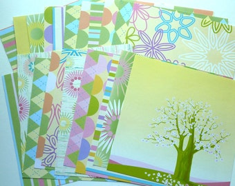 Card Stock Blossoms 23 Sheets