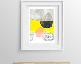 Abstract Painting Giclee Print nº 30, Fine Art Print, Watercolor print, Abstract art, Original Painting, Giclee art print, 8x12,12x16,16x24