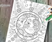 Celestial (sun and moon d...