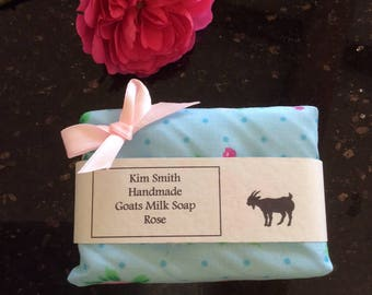 Goats Milk Soap with Rose Oil