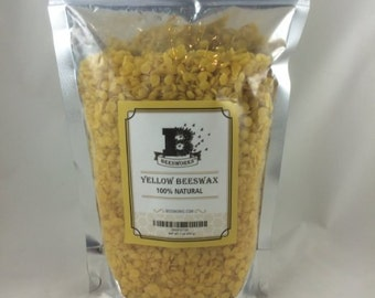 New Best Price! BEESWAX PELLETS, Yellow, 1lb-Must Have For Many Different Projects - Fast US Shipping!