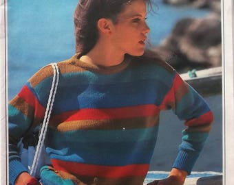 booklet of KNITTING and CROCHET patterns and works - VINTAGE may 82