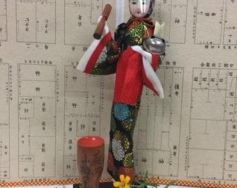 Antique Japanese Doll w/Box
