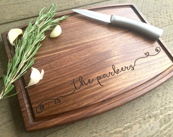 Personalized Cutting board, Wedding Gift, wedding shower gift, Custom cutting board, Fast shipping