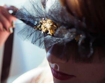 Gold Stars Boudoir Blindfold