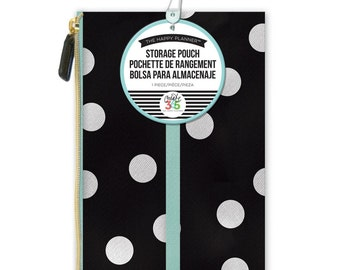 """Planner Pouch Happy Planner Create 365  Pouch 5.75""""X9.25"""" - Happy Planner Accessory/ Planner Pouch/ Pen Holder/ Stickers Holders"""