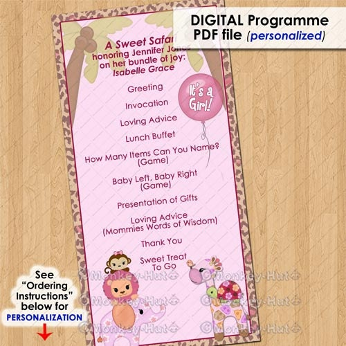 baby shower program template april onthemarch co