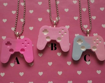 Choose your colour - Game Controller Necklace