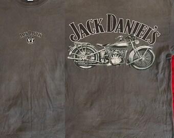 Vintage Jack Daniels Motorcycle Tee