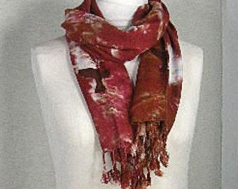Hand woven Rayon Scarf  RHW 5