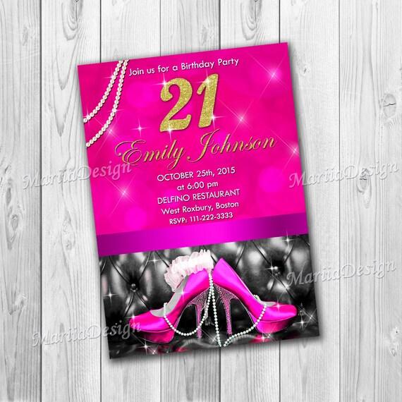 21st birthday invitations birthday invitations for women stopboris Images