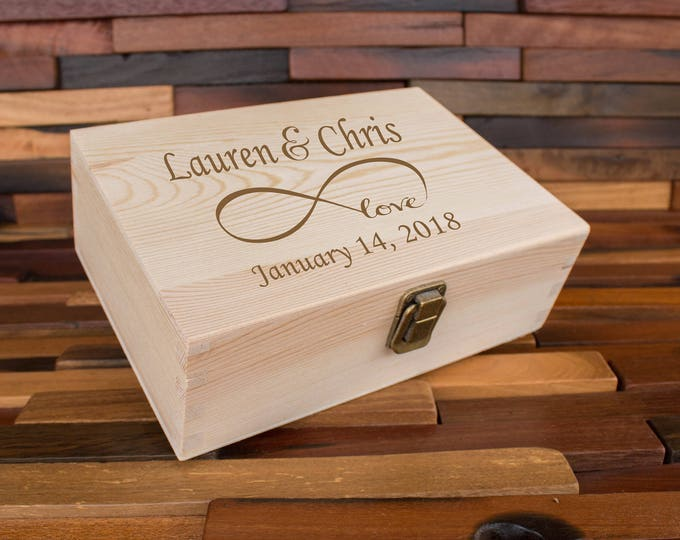 Valentines Day Love Memory Box, Gift Box, Special Note Keepsake Box, Love Notes Box, Ticket Box, Memories Box, Valentine Day Gift, Proposal