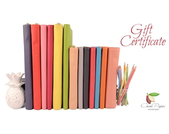 Gift Card. Email gift voucher / gift certificate for him or her. Birthday, Christmas, Graduation Gift.