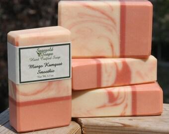 Mango Kumquat Smoothie Handmade Cold Process Soap