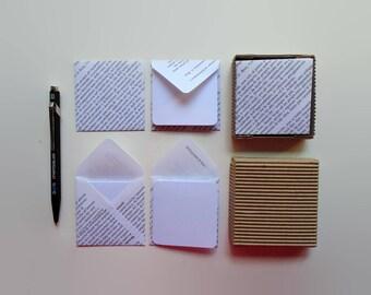 Printed Paper Mini Stationery Set