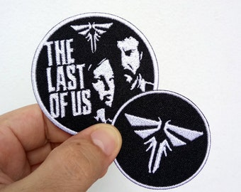 The Last of us with Firefly Iron on Patch
