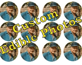 Edible Photos for Cakes, Cupcakes, Cookies or Drinks - Wafer Paper or Frosting Sheet.