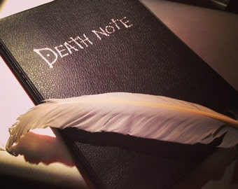 Death Note Notebook set 2-teilig mit Schreibfeder Cosplay