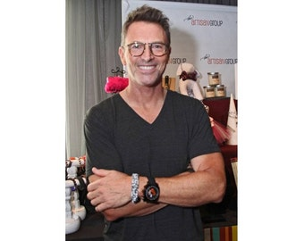 Madam Secretary and Wings star Tim Daly wearing Our Paracord Survival Mens Dads Husband Bracelet Contemporary Boyfriend  Wirstband