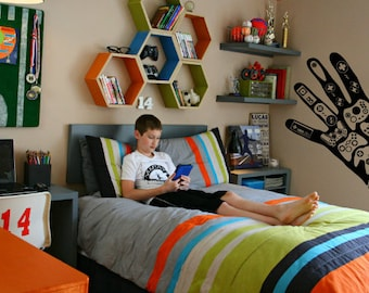 Wall Decal video game wall decals Controller Xbox Playstation Video Games gamer wall decal Boys Teenager Room us024