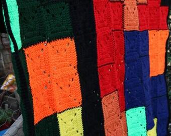 Tiatris granny square blanket