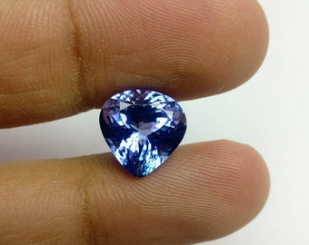 Tanzanite AAA+ Heart shape ,6.44 cts