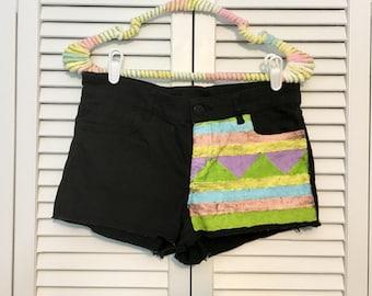 Pastel upcycled shorts!