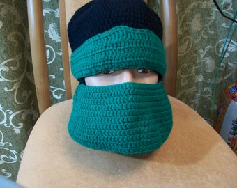 Mask cap Ninja Turtle