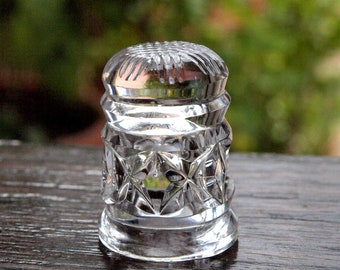 Waterford Crystal Thimble Collectable Handmade in Ireland, VINTAGE