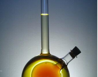 Bottle for oil,Oil Bottle, Olive Oil Bottle,Glass Bottle,Handmade Oil Bottle,Husband Gift,Mothers Day Gift, Foodie Gift, Housewarming Gift