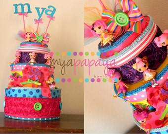 Candyland Lalaloopsy Birthday Cake Centerpiece