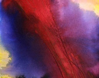 Original abstract painting, unique piece.