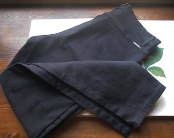Vintage Jeans ~Jet Black Jordache Jeans, 1980's 1990's ~ Vintage Retro Mom's Jeans ~ High Waist Mom Jeans ~ In Style Vintage ~ Retro Metro