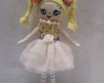 Birthday doll custom