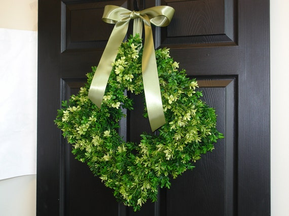 Awesome Spring Wreaths Summer Wreaths For Front Door Wreaths Boxwood