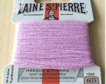 St. Pierre 603 cyclamen wool yarn