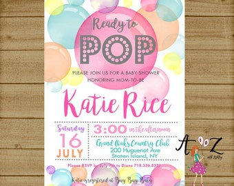 Shes ready to pop baby shower invitation printable baby shower ready to pop ready to pop baby shower invitation ready to pop invitation about to pop invitation shes ready to pop filmwisefo