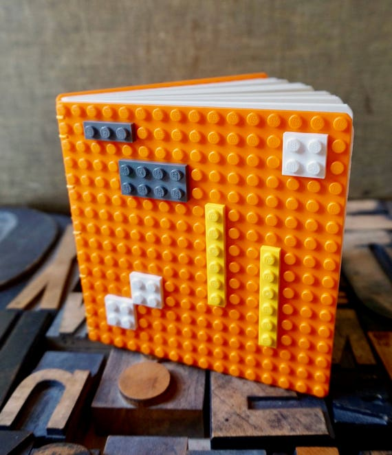 Build your Own Cover Design - Coptic Bound with Orange Covers