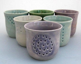 Modern Ceramic Wine Cup - Juice Cup - Small Tumbler - Barware - Hand Thrown - Stoneware - Pottery
