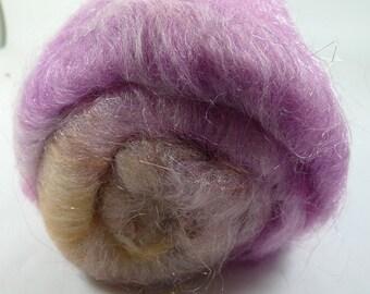 Fleegle die Haare 60/40 Merino / Seide, Angelina und Feuerstern, 2,3 oz (SKU4)
