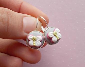 Butterfly Earrings - Butterfly Jewelry - Butterfly Dangle Earrings - Butterfly Gift for her -