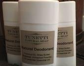 Natural Deodorant - handm...