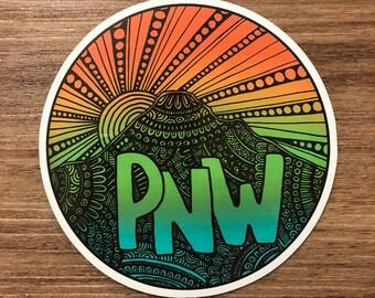 Pacific Northwest - PNW Sticker