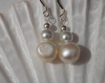 Pearl Earrings | Uncultured Pearl Earrings