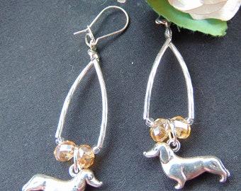 Dash Hound Earrings