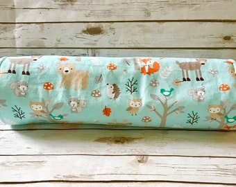 Custom Hedgehog Bed Guinea Pig Plush Fleece Tunnel Pet Bed Pick from over 200+ Fabrics Woodland Animal print