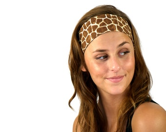 Bargain Headbands, Animal Print Inspiration Exotic Giraffe, Stunning Headband