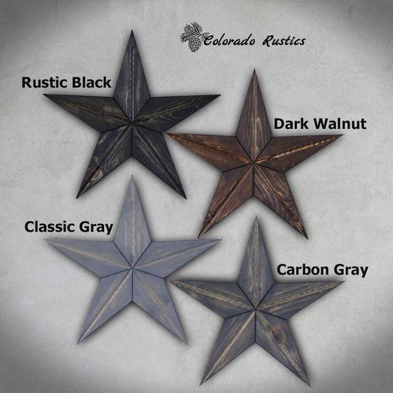 Rustic Star Wood Wall Art Texas Star Décor Country Star