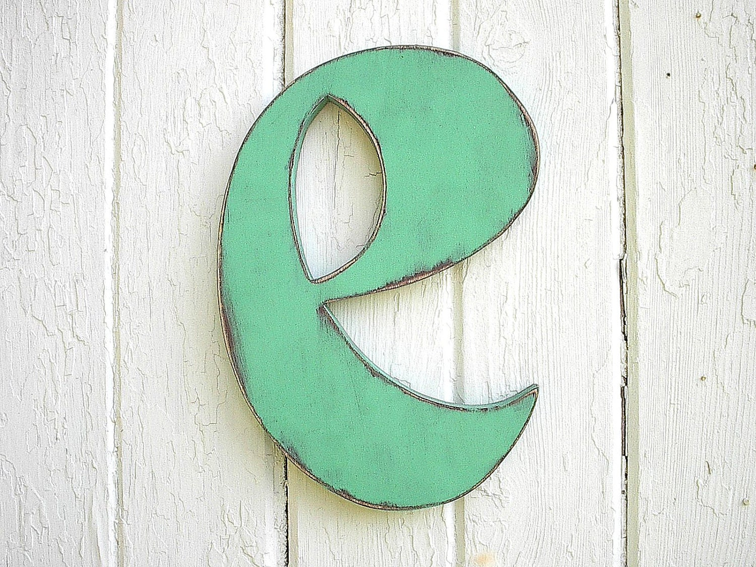 Letter E Wall Decor Nursery Wall Hanging Letters Wooden Letter E